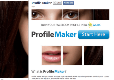 Facebook Profile Maker Fan Page Photos