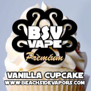 vanilla cupcake e liquid