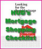 HUD's Mortgage Shopping Checklist