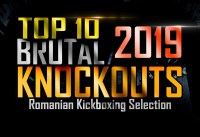 Top 10 Brutal Knockouts in 2019 – Romanian Kickboxing Selection