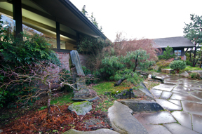 Japanese Garden at Bainbridge Island Public Library