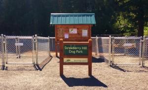 Entrance to Dog Park