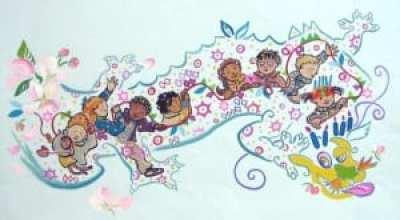 """Dragon Dancing"" by award-winning illustrator of children's books, Pierr Morgan."