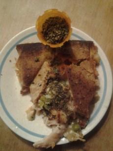 Chicken Pot Pie. With Pot.