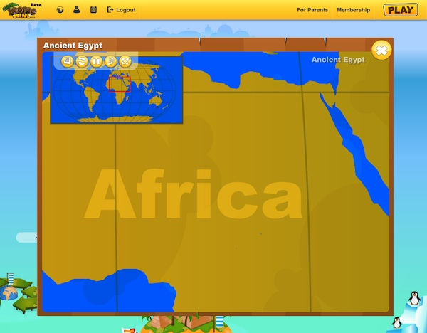 Tropical Mind Virtual World