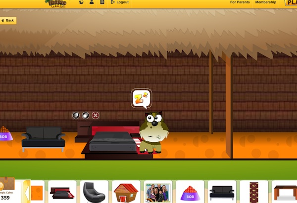 Tropical Mind Virtual World Computer Game