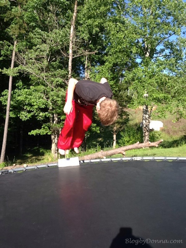 Fun on Trampoline 2