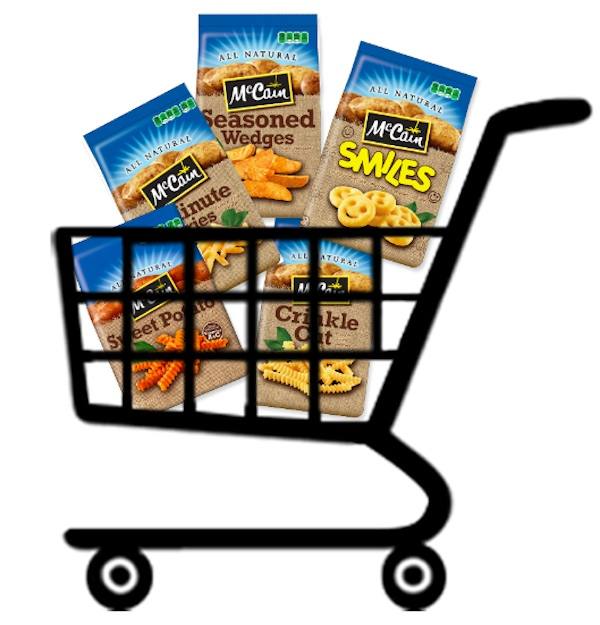 McCains Grocery Cart