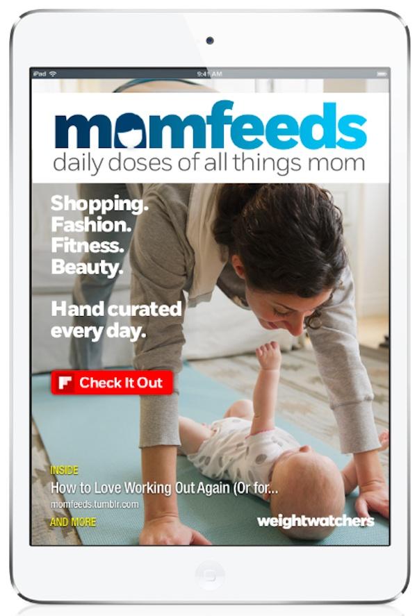 Momfeeds digital magazine from weight watchers #WWSponsored