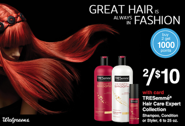 #TRESemme Saturdate at Walgreens