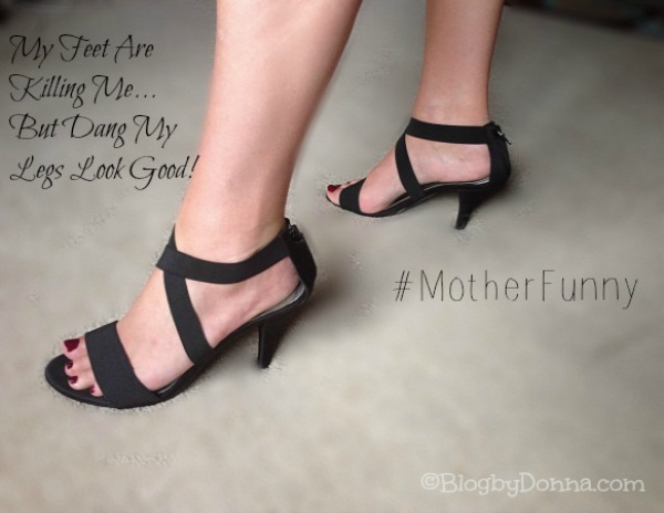 #MotherFunny NickMom what does your shoes say about you