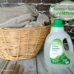 Great Value Naturals Green Laundry detergent from Walmart