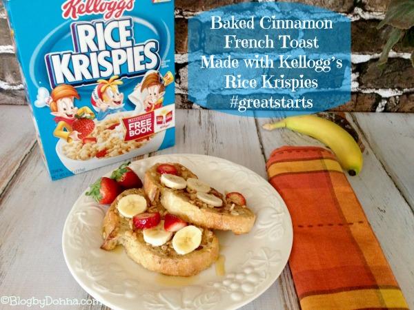 Kellogg's Bottom of the Box Recipes #greatstarts