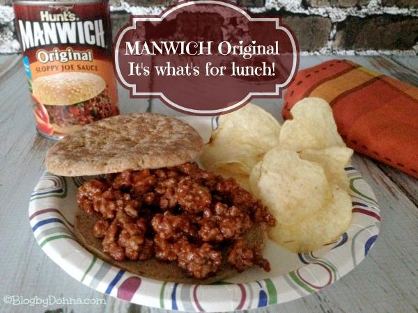 Manwich Original Sloppy Joe Sauce for an easy dinner #Manwich