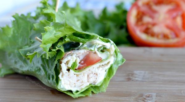 lettuce wraps for a low-carb diet