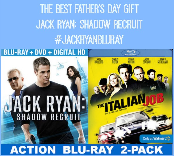 Jack Ryan: Shadow Recruit exclusive Walmart Blue-Ray DVD the best Father's Day gift #JackRyanBlueRay #shop #collectivebias