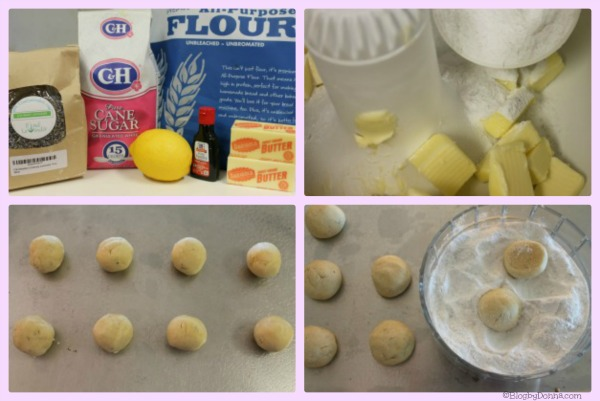 lemon lavender butter cookies recipe