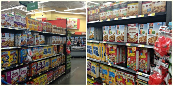 Quaker Life at Walmart Collage