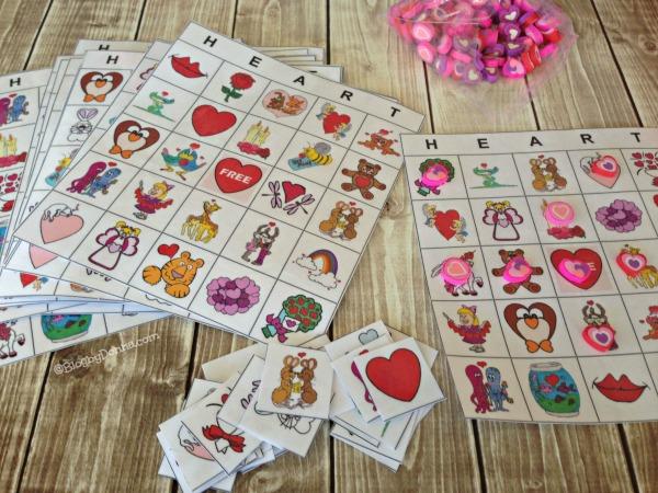 Valentine's Day Bingo Game 1 #CapriSunParties #collectivebias
