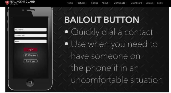 ScreenShot Real Agent Guard App Bailout