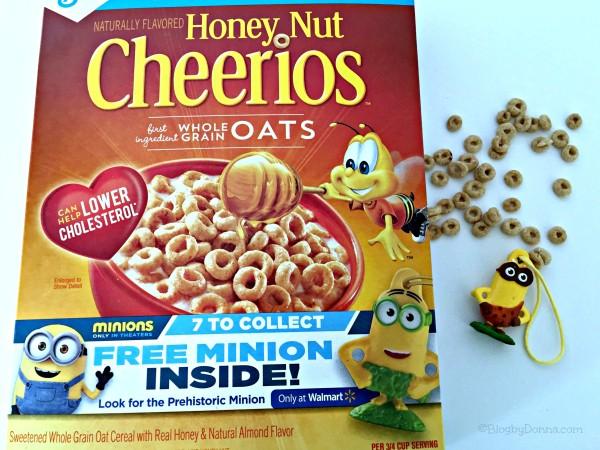 Minion from Honey Nut Cheerios #The7thMinion
