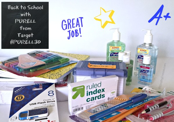 Back to School with PURELL from Target #PURELL30