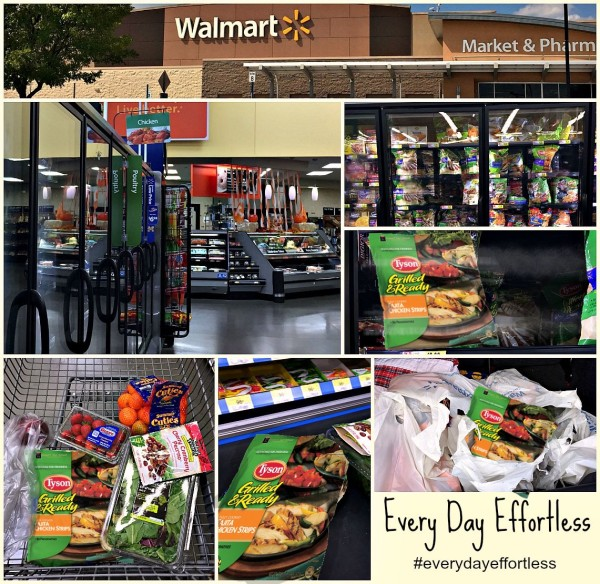 Every Day Effortless with Tyson at Walmart Graphic #everydayeffortless 3