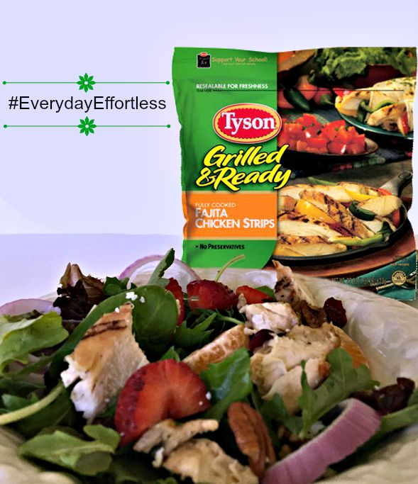 Tyson Grilled and Ready Breast Strips Chicken Salad 3