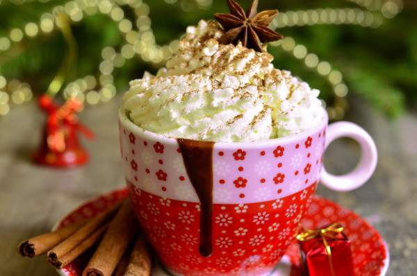 Spicy hot chocolate perfect for th holidays