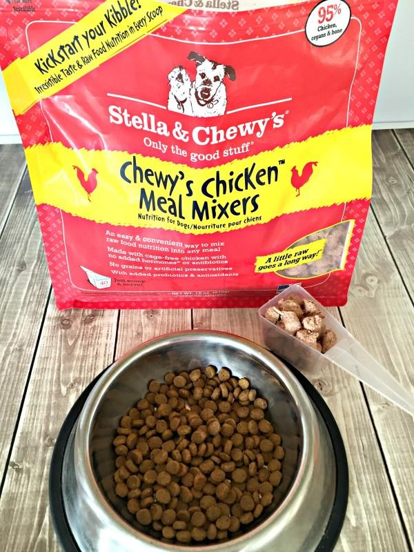 Stella & Chewy's Meal Mixers #KickStartYourKibble