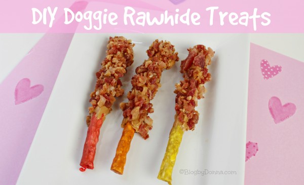 DIY doggie rawhide treats recipe