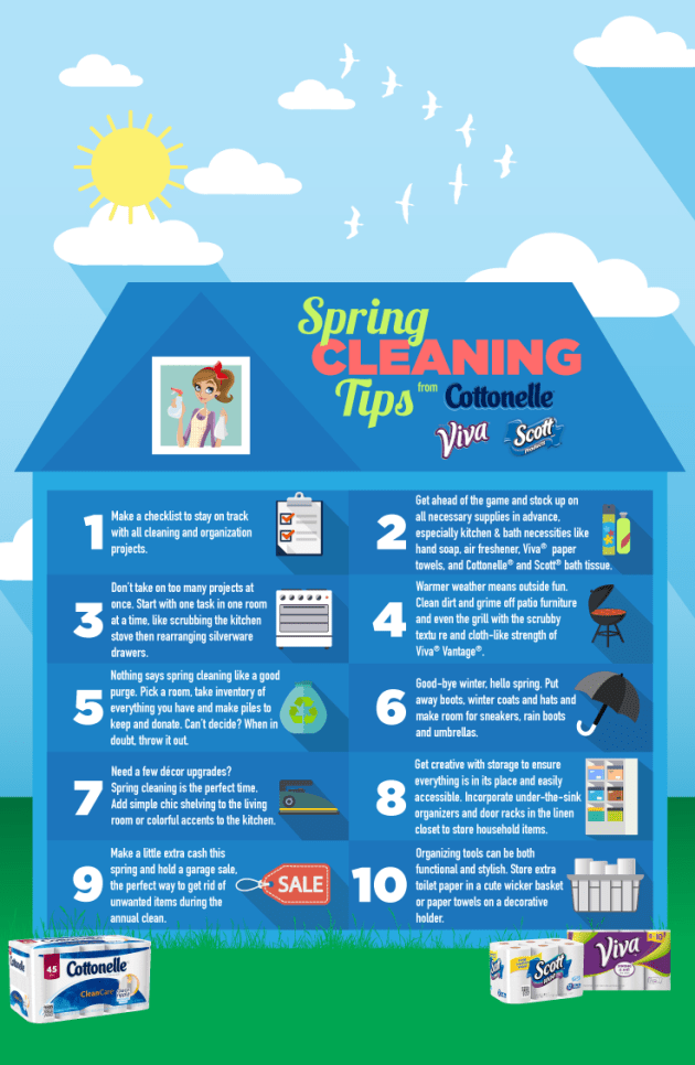 Spring Cleaning tips #SpringClean 16