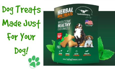 TopDogDinners Dog Treats made for your dog