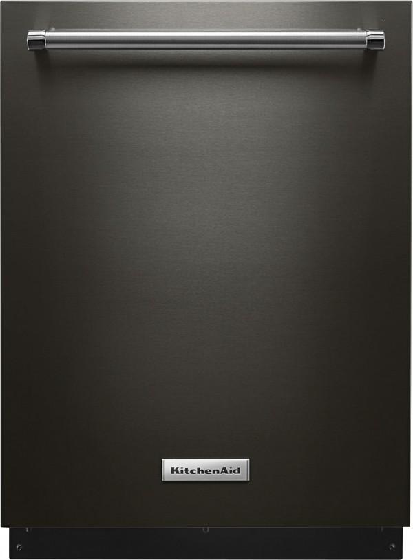 KitchenAid black stainless steel dishwasher from Best Buy