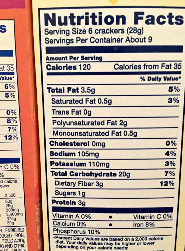 Read labels look for hidden sugars