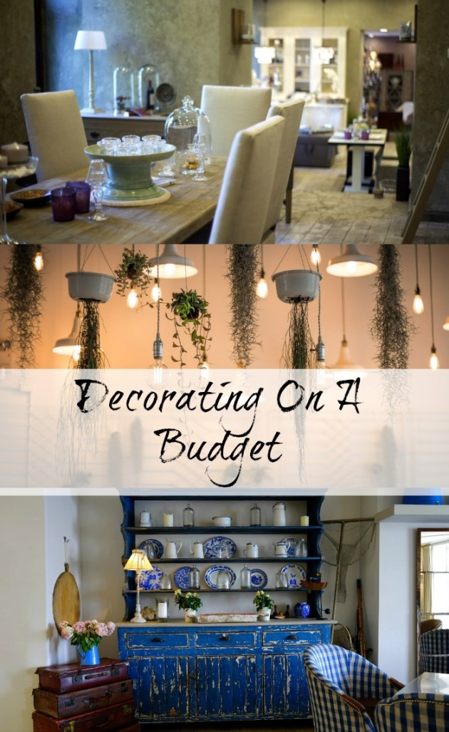 Home decorating on a budget