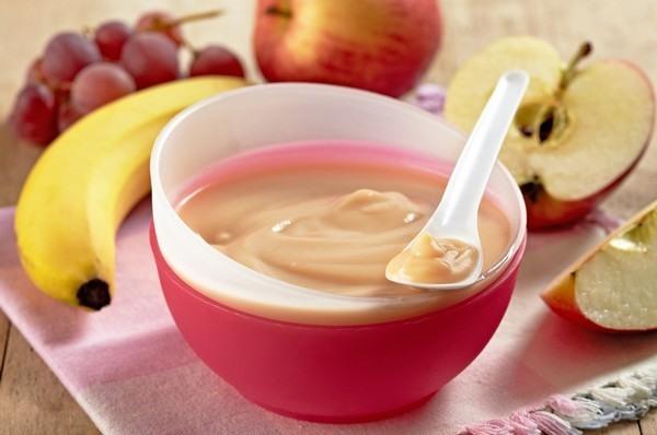 Membuat Bubur Susu Apel