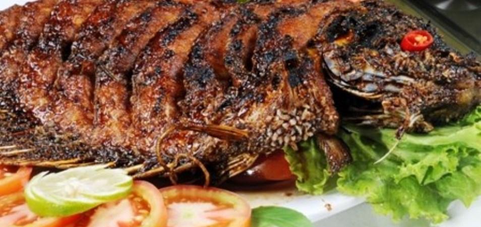 ikan bakar, Resep Masakan Tahun Baru Ikan Bakar Kecap