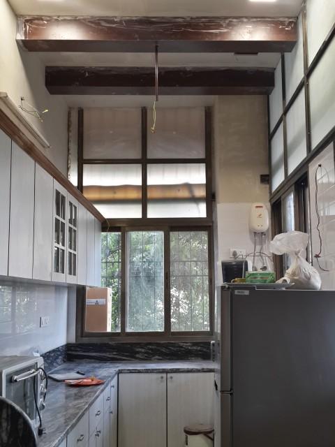 Piso India - La cocina nueva tomando forma