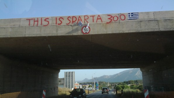 Esta es Sparta Grafiti Mural