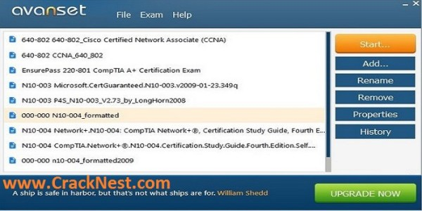 Avanset VCE Exam Simulator Crack