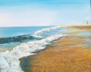 """Photo: An acrylic painting by instructor Ron Lightcap who will be teaching """"Introduction to Acrylic Painting"""" at the Rehoboth Art League"""