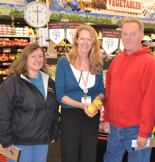 "Photo: UM SRH registered dietitian Mary King, center, will lead a ""Food Shopping for Health"" grocery store tour at Redner's Market in Chestertown on March 21. Tours also will be offered at Walmart in Cambridge and Giant Foods in Easton as part of UM Shore Regional Health's celebration of March as National Nutrition Month."