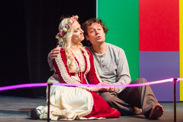 Love Song - Catherine (Becca Van Aken) and Pippin (Mark Weining)