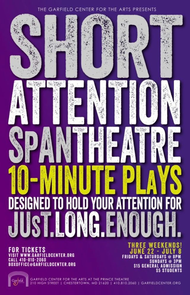 Short Attention Span Theatre 10-Minute Play Festival Opens