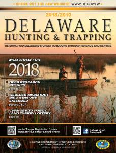 Dnrec announces arrival of 2018/19 delaware hunting & trapping.