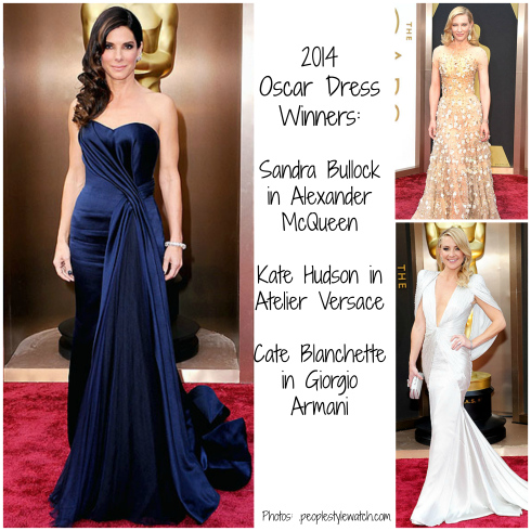 2014 Oscar Dresses - Red Carpet Winners
