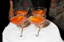 Courvoisier lemon ginger cocktail