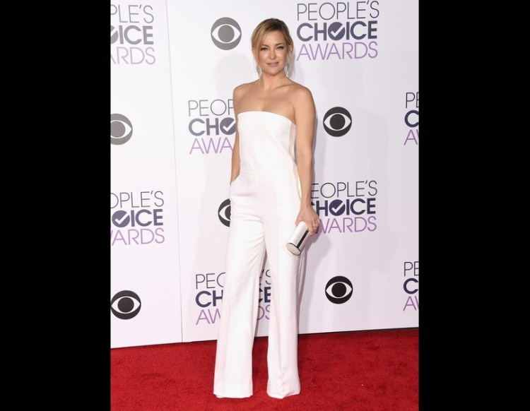 Kate Hudson Wins in White at the People's Choice Awards
