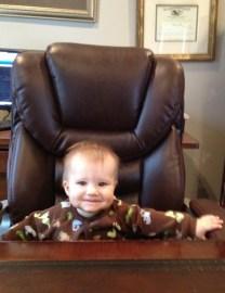 Eli as the boss